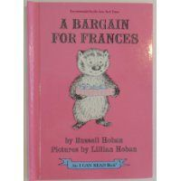 Perfect Picture Book A Bargain For Frances by Russell Hoban ages 4-8 http://viviankirkfield.com/2013/10/11/international-day-of-the-girl-picture-book-review/