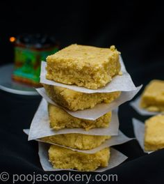 Milk also called as kalakand , is a famous Indian sweet served during festive seasons. I bet you will even lick your fingers after a bite. Thai Red Chicken Curry, Thai Curry Recipes, Cake Tray, Clarified Butter Ghee, Milk Cake, Sweet Cakes, How To Cook Chicken, Cake Recipes, Food And Drink