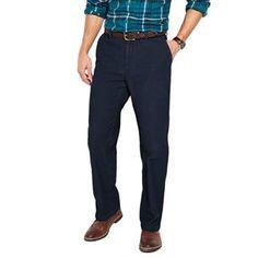 Croft & Barrow® Flat-Front Corduroy Pants