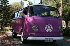 Purple People Eater:  Janet's dream bus!