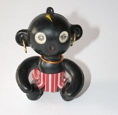 Bildergebnis für negerpuppe original Wasn't this a little black sambo doll. You could stick your finger up inside of it? Antique Toys, Vintage Toys, Retro Vintage, Good Old Times, The Good Old Days, Childhood Toys, Childhood Memories, Nostalgia, My Memory