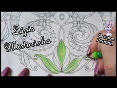 Livro de Colorir - Lápis de cor Misturinha | Luciana Queiróz