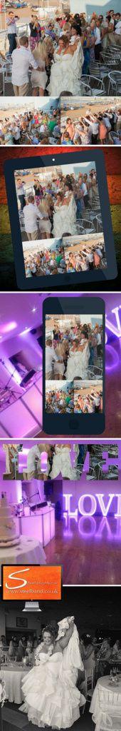 Wedding Drinks Reception Caribbean Tropical Steelband www.SteelBand.co.uk Steelasophical Steel Band Pan Music Drum Hire UK #Steelasophical (7) Steelasophical SteelBand SteelPan