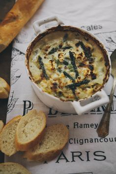 Spring Vegetable and Goat Cheese Dip | Always with Butter
