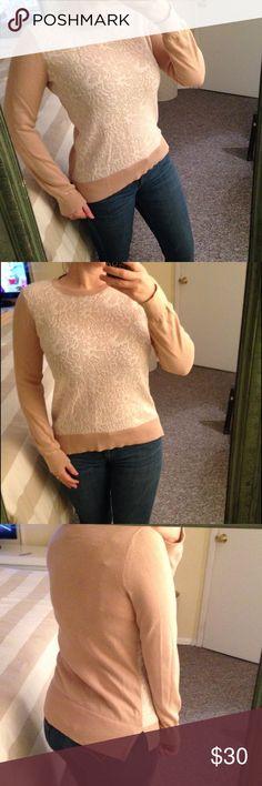 Light weight LOFT sweater Light but warm! Looks cute with leggings or jeans! LOFT Sweaters Crew & Scoop Necks