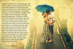 Lessons Learned in Life | I hope you fall in love with someone just like this.
