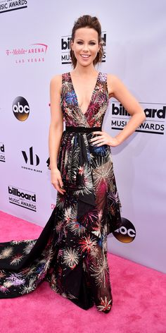 See Your Favorite Stars on the 2017 Billboard Music Awards Red Carpet - Kate Beckinsale from InStyle.com