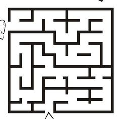 Image result for maze templates teachers | Fall festival ...
