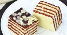 Easter delights: five-card slice cake European Dishes, Just Eat It, Hungarian Recipes, Recipes From Heaven, Cake Cookies, Cookie Recipes, Delicious Desserts, Holiday Dinner, Food And Drink