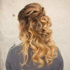 15 Best Hair Half Up Styles Images On Pinterest Hairstyle Ideas