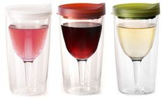 Tipsy without the spillage: sippy cups for wine. MUST HAVE FOR NEW YEARS!
