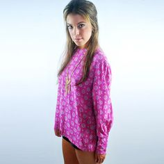 Silk Blouse Pink now featured on Fab.