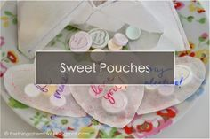 Stitched Paper Sweet Favours