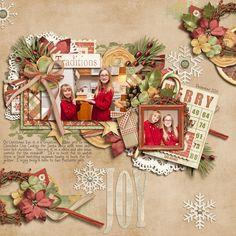 Résultats de recherche d'images pour «pages de scrapbooking de noel simple hiver christmas pines»