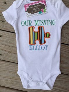 Our Missing Piece shirt great for adoption  by SewSouthernDes