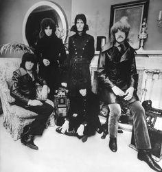 A primeira formação do Deep Purple. Só sobrou o Ian Paice.
