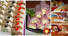 Food To Make, Sushi, Good Food, Brunch, Appetizers, Food And Drink, Treats, Snacks, Baking