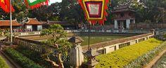 Chrám literatury (Van Mieu) - Hanoj. #hanoj #cestovani #palác #travel #vietnam