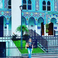 Mesquita de Curitiba as visitas são permitidas aos domingos mulheres devem usar lenço. #turistando #turistandoemcuritiba #curitiba #curitibando by meumundoetudomais