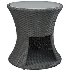 Sojourn Outdoor Patio Rattan Side Table