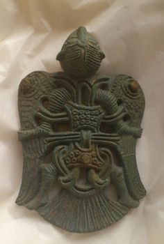 Zoomorphic Viking Human/Bird Pendant from by feedtheravens