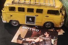 Linda decoração da loja BioTwo que fica no Shopping Mega Polo