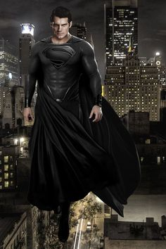 superman black suit - Recherche Google