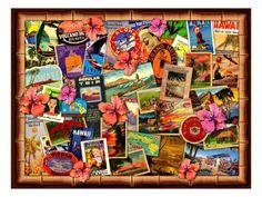 Posters Vintage Hawaii