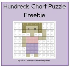 """FREE MATH LESSON - """"100's Chart Mystery Picture *free*"""" - Go to The Best of Teacher Entrepreneurs for this and hundreds of free lessons.  PreKindergarten - 1st Grade   #FreeLesson  #Math  http://www.thebestofteacherentrepreneurs.net/2014/11/free-math-lesson-100s-chart-mystery.html"""