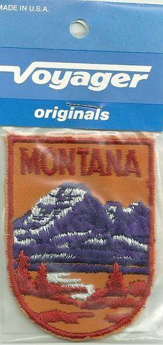 Souvenir Patch The State of Montana | eBay