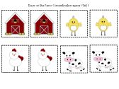 Down On The Farm Initial Sound and Concentration Literacy Packet product from Playful-Learning-Brooklyn on TeachersNotebook.com