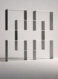 Aziz Sariyer for Moroso | Aluminum 'Pause Three' Bookcase, 2003