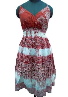 Ibaexports 100% Pure Cotton Summer Dress Women « Clothing Impulse
