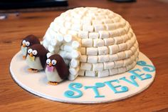 penguin chocolate cake - Google Search