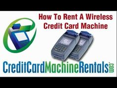 rent a credit card machine