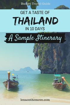 Get a taste of Thailand in less than 2 weeks with this Thailand itinerary for budget-minded travelers, incl. diverse activities and hidden gems Vietnam Voyage, Vietnam Travel, Thailand Travel, Asia Travel, Bangkok Trip, Amazing Destinations, Travel Destinations, Travel Guides, Travel Tips