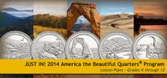 Lesson plans from the US Mint. Lesson plans are k-12 and include a variety of content areas.