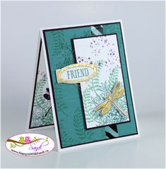 Stampin Up Awesomely Artistic for Stamping and Blogging sketch #109 - card by Sandi @ www.stampinwithsandi.ca