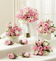 1000 images about wedding flower packages on pinterest bridesmaid bouquets boutonnieres and. Black Bedroom Furniture Sets. Home Design Ideas