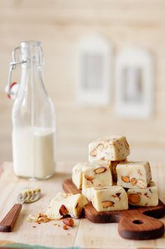 almond toffee fudge + other amazing things