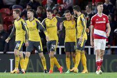 Gol Mesut Ozil Menentukan Kemenangan Arsenal Atas Middlesbrough