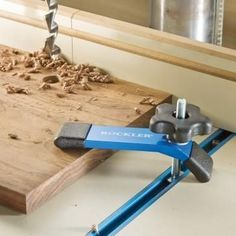 Outfit your workbenches, jigs, or machine tables with the ultimate t-track accessory! #WoodworkingTools