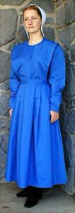 Traditional Old Order Dress worn by some Old Order Mennonites & many Old Order Amish