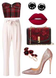 """""""Untitled #5"""" by beacraven ❤ liked on Polyvore featuring Christian Louboutin, Blumarine, Altuzarra, Futuro Remoto and chicflats"""