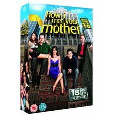 How I Met Your Mother DVD Box Set. Got it for my birthday :D #BestPresentEver