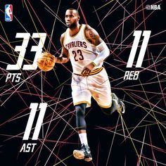LeBron James does it all in Cleveland Cavaliers win!