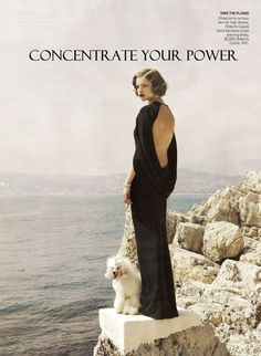 Concentrate Your Power  -- To maintain a focused approach with regards to any goal or dream you wish to attain is a simple, yet often forgettable concept... / Feb 7 '11
