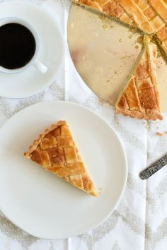 Norwegian Fyrstekake, also known as Royal Cake or Prince's Cake, is a flaky and delicious almond-flavored dessert with an simple yet elegant appearance. | Recipe at Outside Oslo.