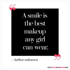 Cute. 20 of the Best Beauty Quotes of All Time: Beauty: glamour.com