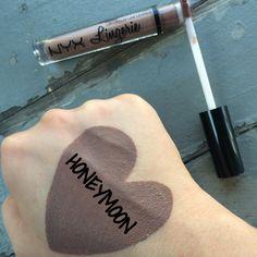 NYX Cosmetics Lingerie Liquid Lipstick: Honeymoon